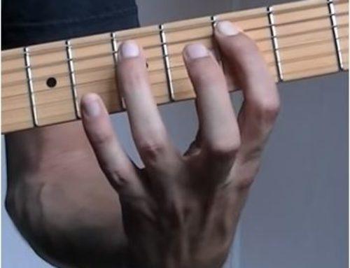 Comment rapidement changer d'accord  à la guitare