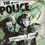 message in a bottle - police