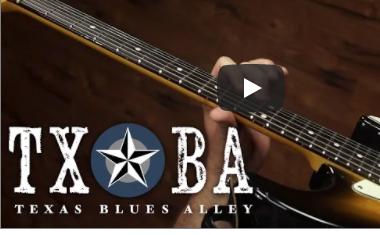 solo blues à la guitare