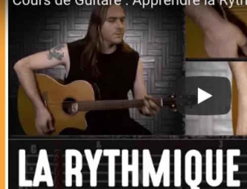 Rythmique et percussion à la guitare – rythmique percussive